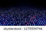 digital data concept. binary...   Shutterstock . vector #1170554746