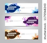 vector abstract design banner... | Shutterstock .eps vector #1170568243