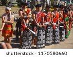 kisama heritage village  kohima ... | Shutterstock . vector #1170580660