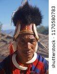 kisama heritage village  kohima ... | Shutterstock . vector #1170580783