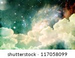 a photo based cloudscape with... | Shutterstock . vector #117058099