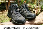 hiking boots. for day hikes or... | Shutterstock . vector #1170586030