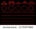 illustration of the elegant red ... | Shutterstock . vector #1170597880