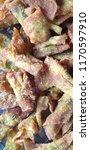 chinese stuffed dumpling fried... | Shutterstock . vector #1170597910