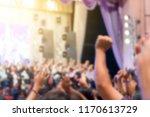 blurred of christian... | Shutterstock . vector #1170613729