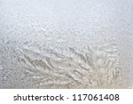 a frosted glass surface... | Shutterstock . vector #117061408