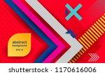 hipster modern geometric...   Shutterstock .eps vector #1170616006