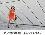 beautiful young indian woman...   Shutterstock . vector #1170617650