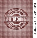 publicity red seamless... | Shutterstock .eps vector #1170618340