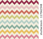 seamless color chevron pattern... | Shutterstock .eps vector #117062548