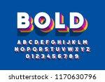 modern bold font design ... | Shutterstock .eps vector #1170630796