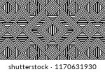 seamless pattern with striped... | Shutterstock .eps vector #1170631930