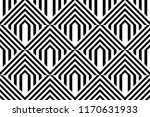 seamless pattern with striped... | Shutterstock .eps vector #1170631933