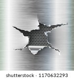 ragged hole torn in ripped... | Shutterstock .eps vector #1170632293