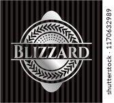 blizzard silvery shiny emblem   Shutterstock .eps vector #1170632989