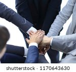 single professional business... | Shutterstock . vector #1170643630
