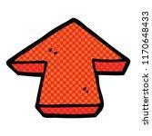 comic book style cartoon arrow... | Shutterstock .eps vector #1170648433