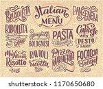 italian food menu   names of...   Shutterstock .eps vector #1170650680