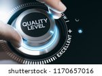 hand turning a quality knob to... | Shutterstock . vector #1170657016
