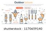 vector linear web header about... | Shutterstock .eps vector #1170659140