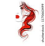 vector  stylish  original hand...   Shutterstock .eps vector #1170663499