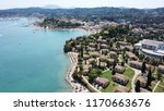 aerial drone photo of famous... | Shutterstock . vector #1170663676