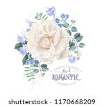vector vintage composition with ... | Shutterstock .eps vector #1170668209