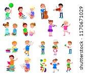 vector for celebration children ...   Shutterstock .eps vector #1170671029