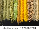 colorful spice background for... | Shutterstock . vector #1170680713