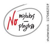 no mistakes   no progress  ...   Shutterstock .eps vector #1170682519
