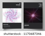 vector layout of a4 format... | Shutterstock .eps vector #1170687346