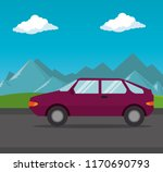 car vehicle transport icon | Shutterstock .eps vector #1170690793