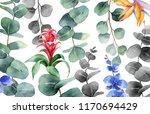 watercolor hand painted... | Shutterstock . vector #1170694429