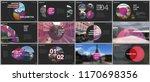 minimal presentations design ... | Shutterstock .eps vector #1170698356