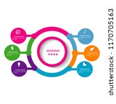 creative infographic timeline... | Shutterstock .eps vector #1170705163