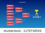 decoration of playoffs schedule ...   Shutterstock .eps vector #1170718543