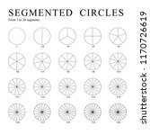 Black Segmented Circles...