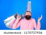 man with beard and mustache... | Shutterstock . vector #1170727936