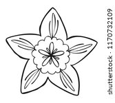 botany flower icon. simple... | Shutterstock .eps vector #1170732109