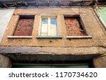 old and damaged uninhabited... | Shutterstock . vector #1170734620