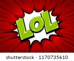 lol funny  wow comic text...   Shutterstock .eps vector #1170735610