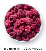 bowl of freeze dried... | Shutterstock . vector #1170740203