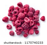 heap of freeze dried...   Shutterstock . vector #1170740233