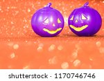 halloween background decor... | Shutterstock . vector #1170746746