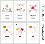 vector set of mobile app... | Shutterstock .eps vector #1170748123