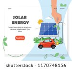 solar energy website homepage...