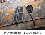 old and damaged uninhabited... | Shutterstock . vector #1170750349