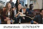 african american sports fans... | Shutterstock . vector #1170761479