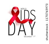 aids awareness. world aids day... | Shutterstock .eps vector #1170765973