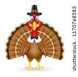 thanksgiving turkey bird vector ... | Shutterstock .eps vector #1170768583